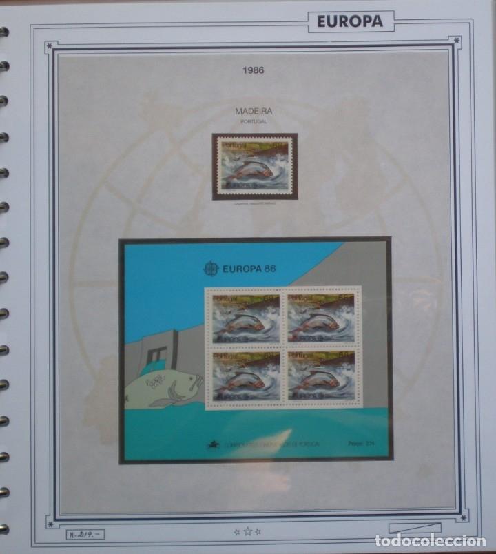 Sellos: EUROPA CEPT - AÑO 1986 COMPLETO - NUEVOS * * 13 FOTOS - LEER COMENTARIO - Foto 12 - 176612407