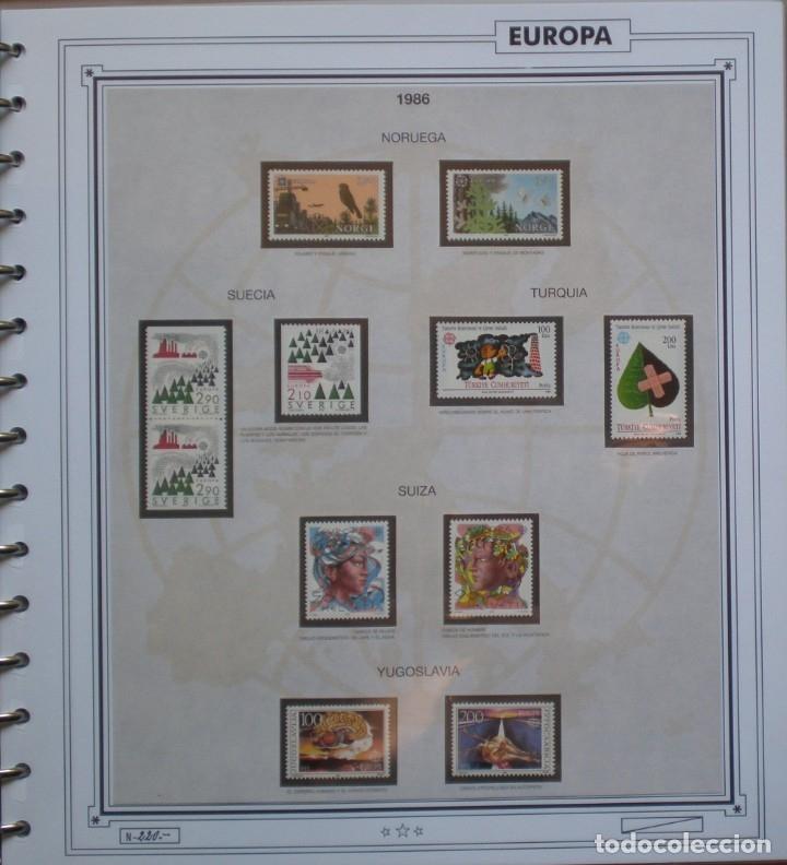 Sellos: EUROPA CEPT - AÑO 1986 COMPLETO - NUEVOS * * 13 FOTOS - LEER COMENTARIO - Foto 13 - 176612407
