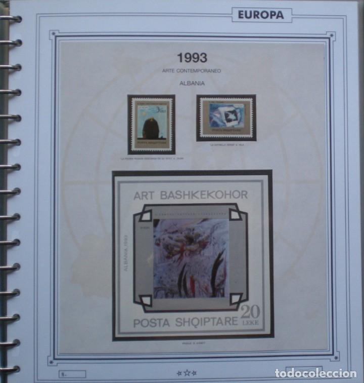 EUROPA CEPT - AÑO 1993 ¡¡¡¡ NO COMPLETO !!!! NUEVOS ** 20 FOTOS - LEER COMENTARIO (Sellos - Extranjero - Europa - Rusia)