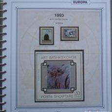 Sellos: EUROPA CEPT - AÑO 1993 ¡¡¡¡ NO COMPLETO !!!! NUEVOS ** 20 FOTOS - LEER COMENTARIO. Lote 176976492
