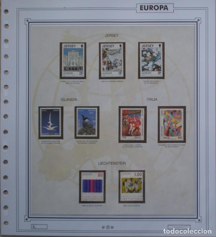 Sellos: EUROPA CEPT - AÑO 1993 ¡¡¡¡ NO COMPLETO !!!! NUEVOS ** 20 FOTOS - LEER COMENTARIO - Foto 13 - 176976492