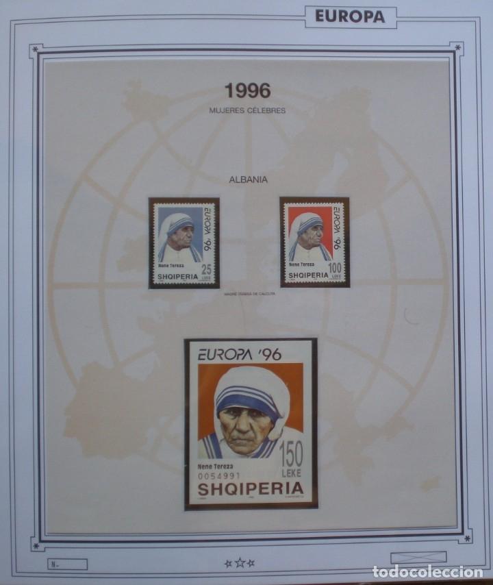 EUROPA CEPT - AÑO 1996 ¡¡ FALTA BOSNIA !! NUEVOS ** 20 FOTOS - LEER COMENTARIO (Sellos - Extranjero - Europa - Rusia)