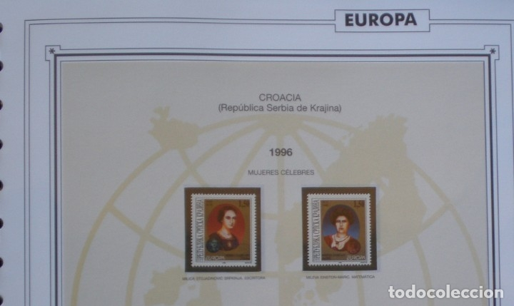Sellos: EUROPA CEPT - AÑO 1996 ¡¡ FALTA BOSNIA !! NUEVOS ** 20 FOTOS - LEER COMENTARIO - Foto 5 - 177040384
