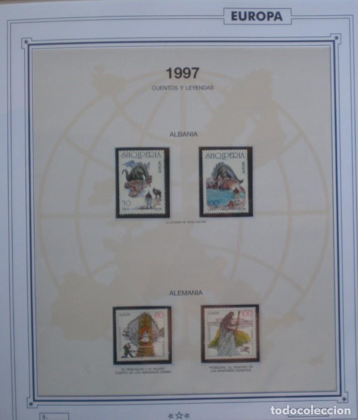 EUROPA CEPT - AÑO 1997 ¡¡FALTA ANDORRA ESPAÑOLA !! NUEVOS ** 20 FOTOS - LEER COMENTARIO (Sellos - Extranjero - Europa - Rusia)