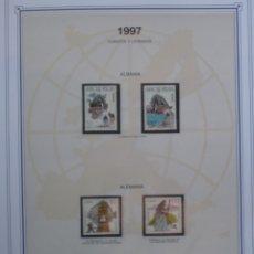Sellos: EUROPA CEPT - AÑO 1997 ¡¡FALTA ANDORRA ESPAÑOLA !! NUEVOS ** 20 FOTOS - LEER COMENTARIO. Lote 177041485