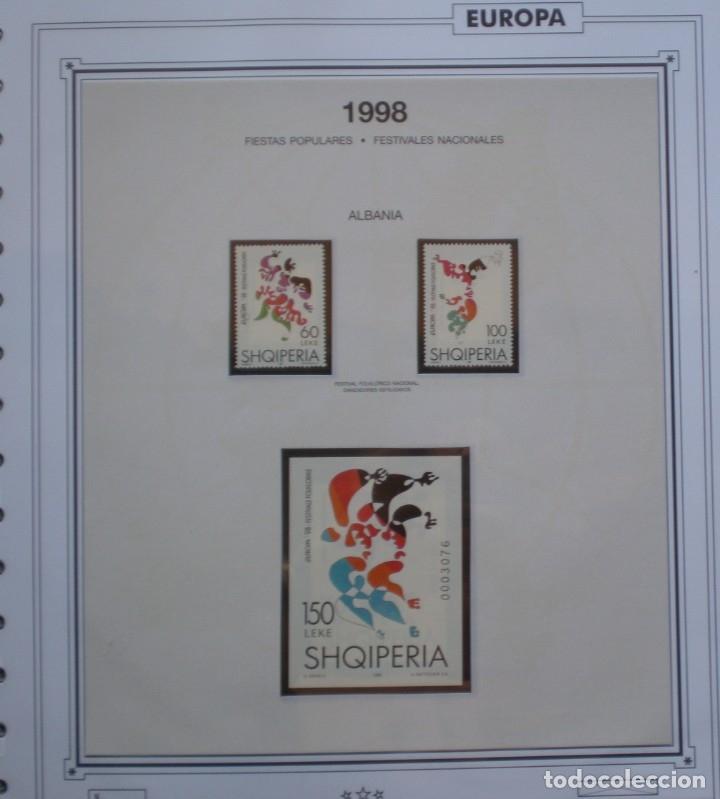 EUROPA CEPT - AÑO 1998 COMPLETO - NUEVOS ** 19 FOTOS - LEER COMENTARIO (Sellos - Extranjero - Europa - Rusia)