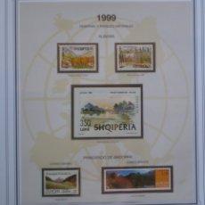 Sellos: EUROPA CEPT - AÑO 1999 COMPLETO - NUEVOS ** 19 FOTOS - LEER COMENTARIO. Lote 177217272