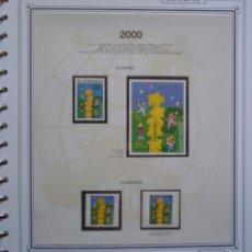 Sellos: EUROPA CEPT - AÑO 2000 COMPLETO - NUEVOS ** 14 FOTOS - LEER COMENTARIO. Lote 177270119