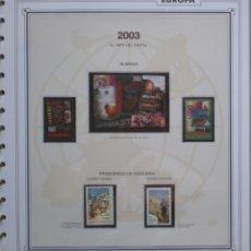Sellos: EUROPA CEPT - AÑO 2003 ¡¡¡ NO COMPLETO !!! - NUEVOS ** 20 FOTOS - LEER COMENTARIO. Lote 177273953