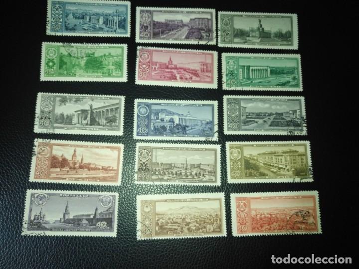 RUSIA-SELLOS AÑO 1958 SERIE 2121/35 (Sellos - Extranjero - Europa - Rusia)