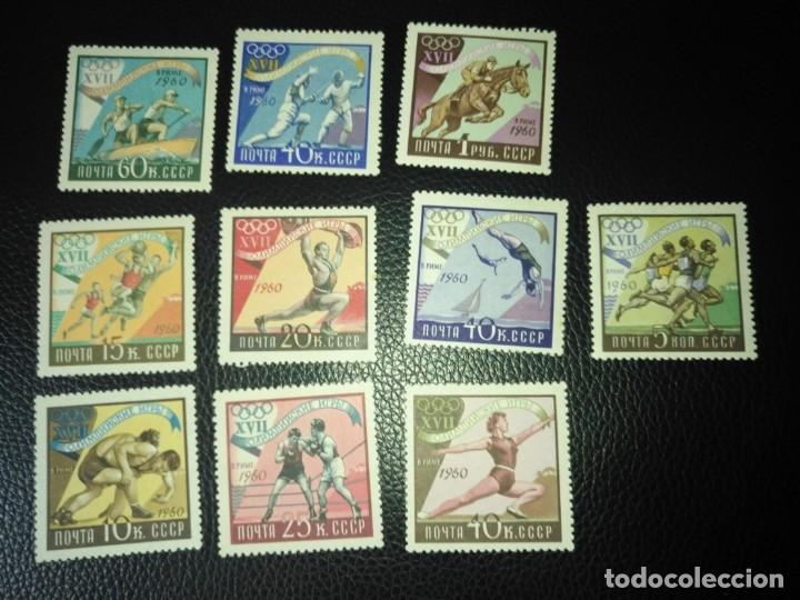 RUSIA-SELLOS AÑO 1960 SERIE 2310/19 (Sellos - Extranjero - Europa - Rusia)