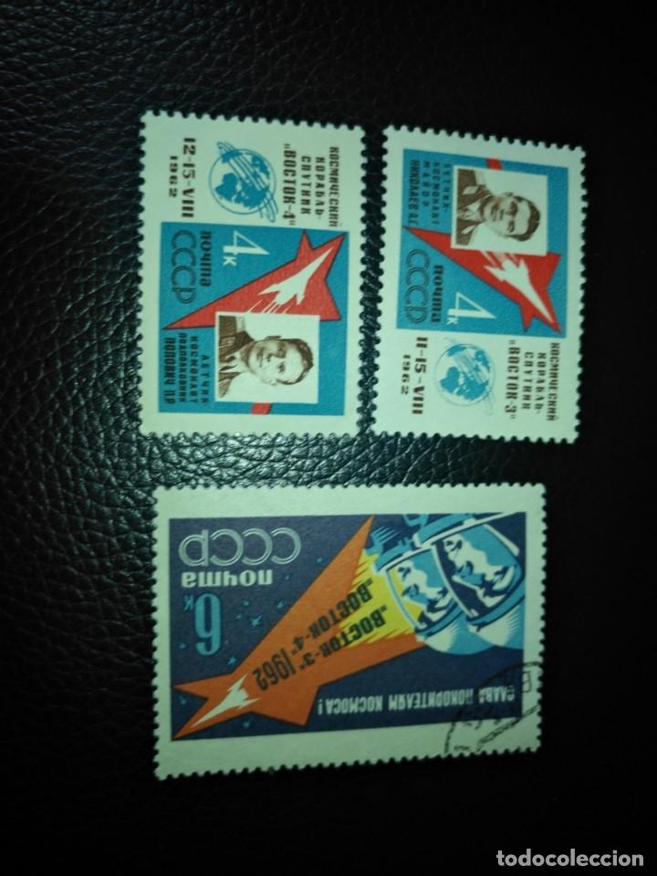 RUSIA-SELLOS AÑO 1962 SERIE 2550/2 (Sellos - Extranjero - Europa - Rusia)