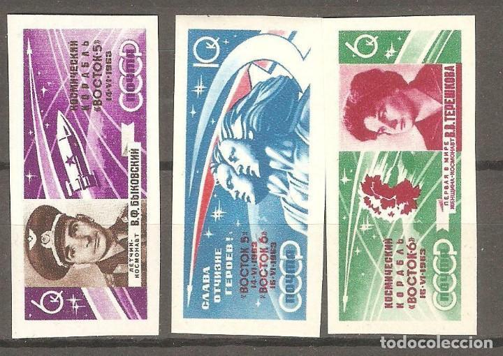 URSS,1963,CAT.YT.PA 67/69.NUEVOS,GOMA ORIGINAL, PUEDE PRESENTAR ALGUN LIGERO DEFECTO.SIN DENTAR. (Sellos - Extranjero - Europa - Rusia)