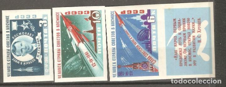 URSS,1961,CAT.YT. PA 2401A/2404A.NUEVOS,GOMA ORIGINAL, PUEDE PRESENTAR ALGUN LIGERO DEFECTO.SIN DEN (Sellos - Extranjero - Europa - Rusia)