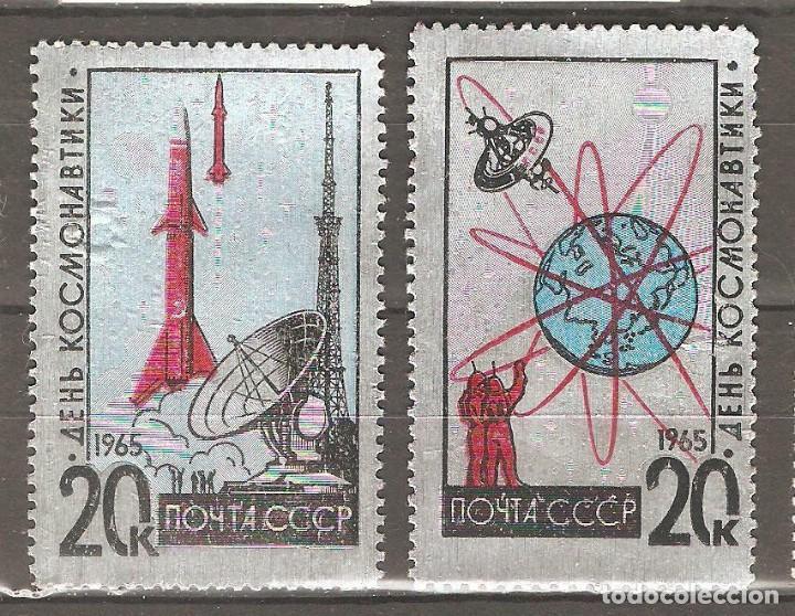 URSS,1965,CAT.YT.2953/2954.NUEVOS,GOMA ORIGINAL, PUEDE PRESENTAR ALGUN LIGERO DEFECTO. (Sellos - Extranjero - Europa - Rusia)