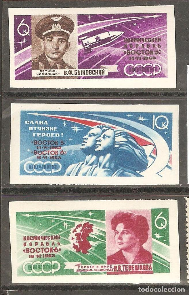 URSS,1963, CAT.MI.2769 A 2770, NUEVOS, GOMA ORIGINAL, SIN FIJASELLOS. (Sellos - Extranjero - Europa - Rusia)
