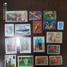 Sellos: LOTE 17 SELLOS NUEVOS Y USADOS URSS RUSIA AÑO 1978. Lote 191523637