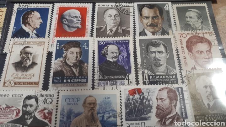Sellos: SELLOS USADOS VARIADOS DE RUSIA C144 - Foto 5 - 197595301