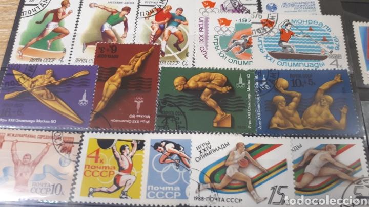 Sellos: SELLOS USADOS DE RUSIA VARIADOS LOT C145 - Foto 2 - 197595366