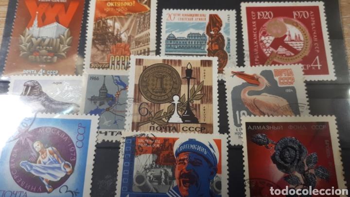 Sellos: SELLOS USADOS DE RUSIA VARIADOS LOT C145 - Foto 3 - 197595366