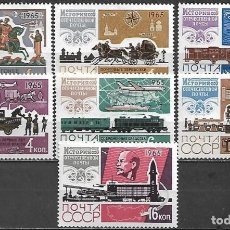 Sellos: SELLOS URSS / RUSIA 1965 Y&T 3022/28*. Lote 199633320
