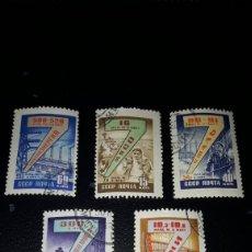 Sellos: LOTE DE 5 SELLOS DE LA URSS DE 1965. CIRCULADOS. Lote 205314872
