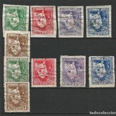 Sellos: RUSIA BLANCA O DEL OESTE, BELORUSIA 1920 NE NUEVOS CON CHARNELA DENTADOS Y SIN DENTAR. Lote 205719885
