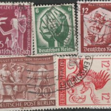 Sellos: LOTE(14) SELLOS ALEMANIA NACI HITLER. Lote 206774111
