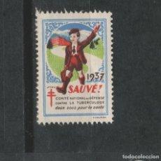 Sellos: LOTE(14) SELLO VIÑETA 1937. Lote 257581395