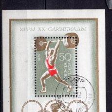 Sellos: UNION SOVIETICA 1972 SOUVENIR-SHEET , MICHEL BL77 MNH. Lote 269353278