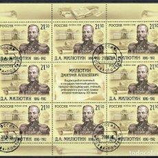 Sellos: ⚡ DISCOUNT RUSSIA 2016 THE 200TH ANNIVERSARY OF THE BIRTH OF DMITRY MILYUTIN U - MILITARY. Lote 255658905