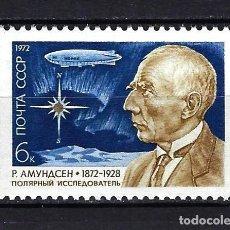 Sellos: 1972 RUSIA-URSS-UNIÓN SOVIÉTICA YVERT 3854 CENTENARIO ROALD AMUNDSEN MNH** NUEVO SIN FIJASELLOS. Lote 260642725