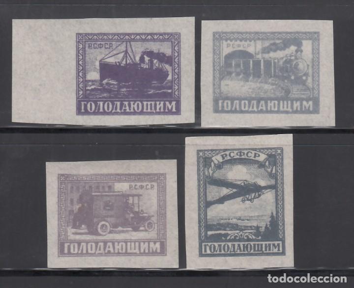 RUSIA, 1922 YVERT Nº 185 / 188 /*/ (Sellos - Extranjero - Europa - Rusia)