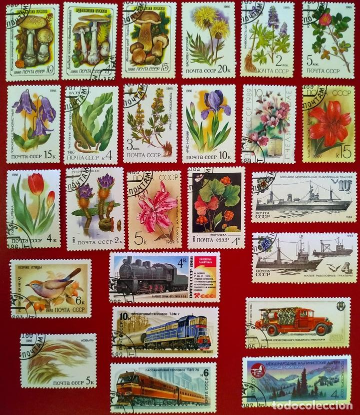 Sellos: Lote 50 sellos Unión Soviética años 80 - Foto 2 - 264630359
