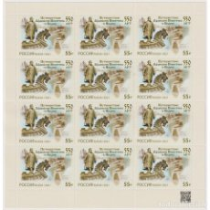 Sellos: ⚡ DISCOUNT RUSSIA 2021 THE 550TH ANNIVERSARY OF AFANASY NIKITIN'S JOURNEY TO INDIA MNH - SHI. Lote 284374963