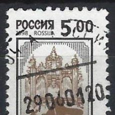 Sellos: RUSIA 1998 - SERIE BÁSICA, PIANISTA Y TEATRO - USADO. Lote 289732563