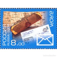 Francobolli: RU1230 RUSSIA 2008 MNH LETTER. RELEASE UNDER THE EUROPE PROGRAM. Lote 293404283