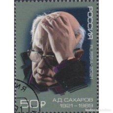 Sellos: RU2768-2 RUSSIA 2021 U 100TH ANNIVERSARY OF THE BIRTH OF A.D. SAKHAROV. Lote 293413313