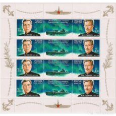Sellos: RU1187ML RUSSIA 2007 MNH HEROES OF SUBMARINE FORCES. Lote 293413568