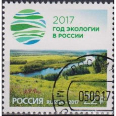 Sellos: ⚡ DISCOUNT RUSSIA 2017 YEAR OF ECOLOGY - 2017 U - NATURE. Lote 297149113
