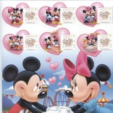 Sellos: AÑO 2006. WALT DISNEY. MICKY MOUSE Y MINNIE. Lote 15504551