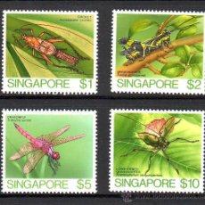 Sellos: SINGAPUR***.INSECTOS.VALORES ALTOS.ALTO VALOR CATALOGO.. Lote 26978266