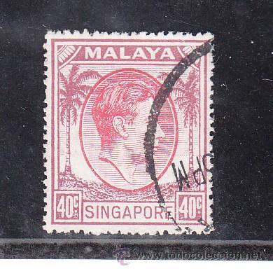 SINGAPUR 16B USADA, (Sellos - Extranjero - Asia - Singapur)