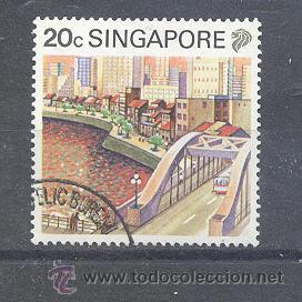 SINGAPUR, (Sellos - Extranjero - Asia - Singapur)