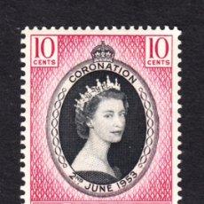 Sellos: SINGAPUR 27** - AÑO 1953 - CORONACION DE LA REINA ISABEL II. Lote 45272022