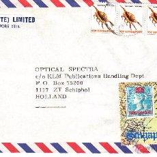 Sellos: SOBRE: 1980 SINGAPUR - HOLANDA. Lote 54785145