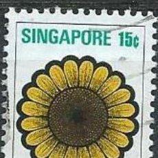 Selos: SINGAPUR, 1973, SERIE GENERAL, USADO. Lote 70516927