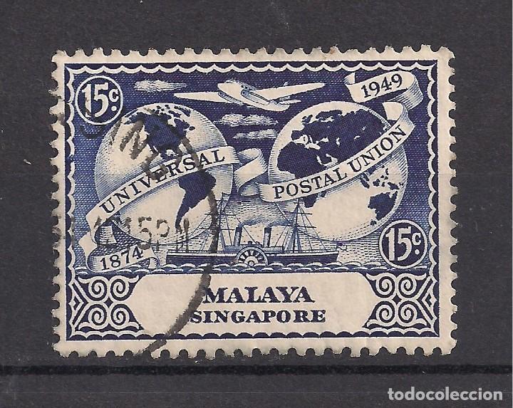 SINGAPUR 1949 - USADO (Sellos - Extranjero - Asia - Singapur)