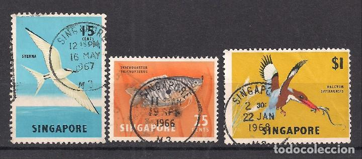 SINGAPUR 1962 - USADO (Sellos - Extranjero - Asia - Singapur)