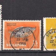 Sellos: SINGAPUR 1962 - USADO. Lote 98613923